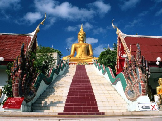 the big buddha koh samui samui island thailand normal 520x390 Thailand   If heaven had a window this would be your view