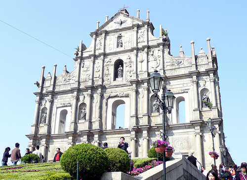 ruins of st paul1 The Wonders of Macau