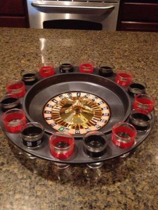 Shot Roulette drinking 225x300 New! Shot Roulette Drinking Game Great for parties!