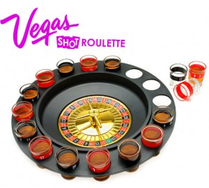 Vegas Style Roulette Shot Glass Drinking Game Great Poker Themed Party SPROULT 300x269 New! Shot Roulette Drinking Game Great for parties!