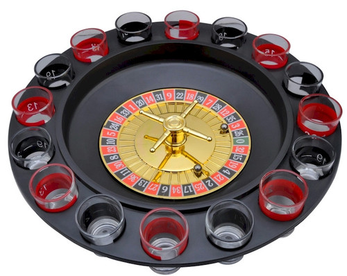 Vegas Style Roulette Shot Glass Drinking Game Great Poker Themed Party SPROULT 4 New! Shot Roulette Drinking Game Great for parties!