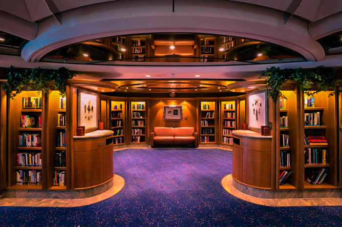 library_card_room_royal_caribbean_cruises